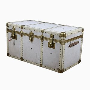 Vintage Lockable Parchment Trunk from Shiusura FB Hermetica