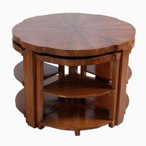 Art Deco Nesting Tables, 1930s