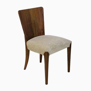 H214 Art Deco Dining Chair by Jindrich Halabala for UP Zavody, 1940s