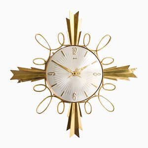 Vintage Starburst Clock from Palmtag, 1960s