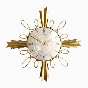 Vintage Uhr in Sonnen Optik von Palmtag, 1960er