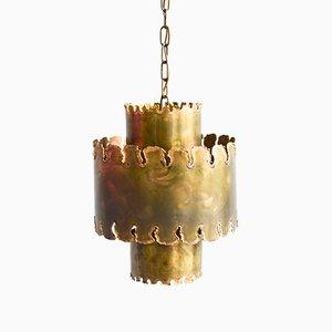 Vintage Brutalist Pendant Lamp by Holm Sorensen