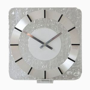Vintage Lucite Wall Clock from Kienzle, 1980s