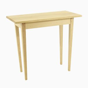 Vintage Table in Beech and Oak