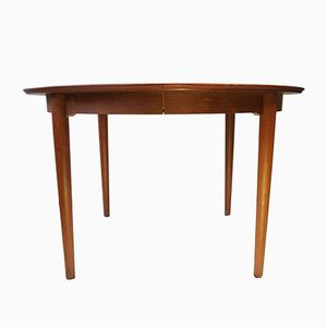 Danish Round Dining Table by Børge Rammeskov for Sibast