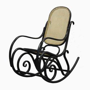 Chaise à Bascule Art Nouveau