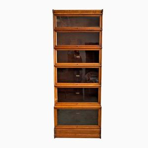 English Eight-Part Bookcase from Globe Wernicke, 1910s