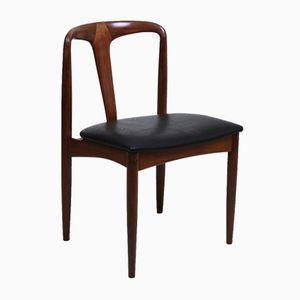 Vintage Danish Model Juliane Teak Chair by Johannes Andersen for Uldum Møbelfabrik