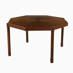 Italian Teak Table, 1960s