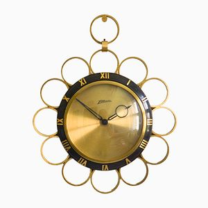 Brass Wall Clock from Atlanta
