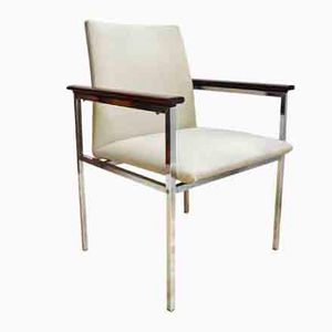 Mid-Century Danish Rosewood Arm Chair by Sigvard Bernadotte for France & Søn