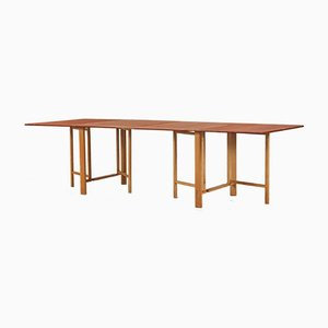 Vintage Teak & Beech Extension Dining Table