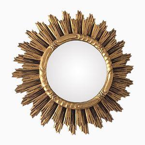 Vintage Carved Wooden Mirror