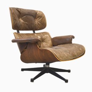 Rosewood Lounge Chair by Charles & Ray Eames for Herman Miller, 1960s