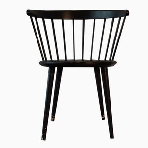 Vintage Danish Side Chair by Yngve Ekstrom for Nesto, 1960s