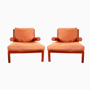 Vintage Baisity Armchairs by Antonio Citterio for B&B Italia, Set of 2