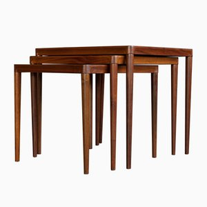 Nesting Tables by Hans Olsen, 1950s