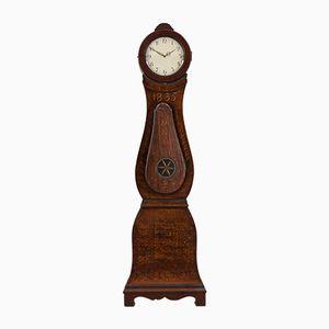 Antike Schwedische Lackierte Mora Uhr, 1835