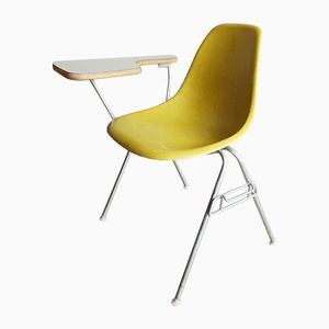 Mid-Century Shell School Desk Chair by Charles & Ray Eames for Herman Miller