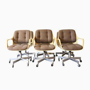 Vintage Space Age Bürostühle von Chromcraft, 6er Set