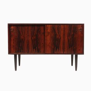 Mid-Century Danish Rosewood Sideboard with Sliding Doors, 1950s