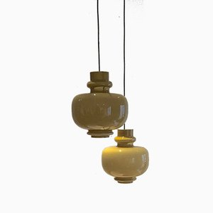Vintage Pendant Lamps from Vistosi, Set of 2