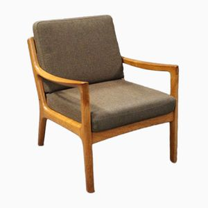 Model 166 Lounge Chair by Ole Wanscher for France & Son, 1960s