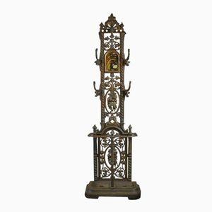Antique Cast Iron Coat Stand