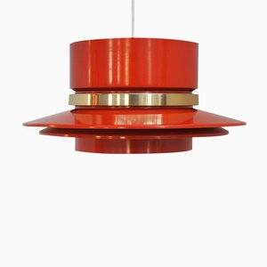 Suspension Orange par Carl Thore pour Granhaga Metal Industri, 1960s