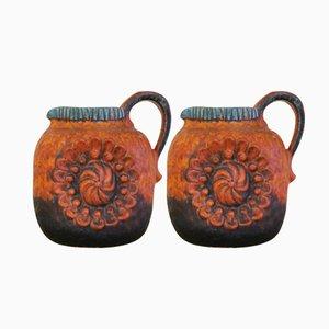 Vintage Relief Series Jars 53/17 from Dumler&Breiden, Set of 2