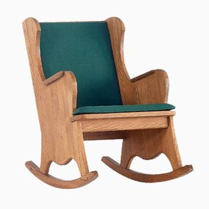 Lovö Rocking Chair by Axel Einar Hjorth for Nordiska Kompaniet, 1932