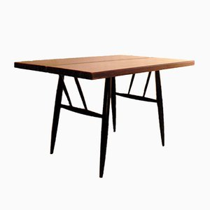 Pirkka Pine & Birch Dining Table by Ilmari Tapiovaara