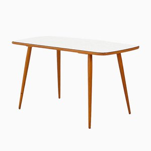Vintage Beech and Formica Coffee Table, 1950s