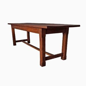 Antique French Oak Farm Table