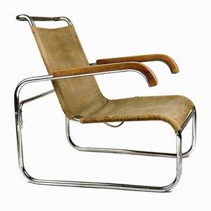 Club chair di Marcel Breuer per Thonet, anni '30