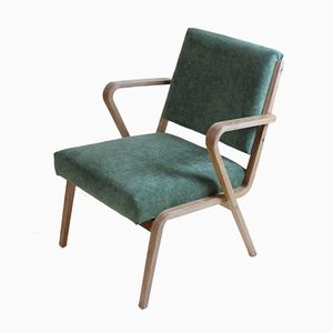 German Easy Chair by Selman Selmanagic for Veb Dw Hellerau