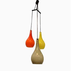 Vintage Murano Glas Deckenlampe von Stilnovo