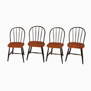 Swedish Chairs from Nesto, 1960s, Set of 4