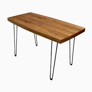 Vintage Rectangular Coffee Table with Hairpin Legs