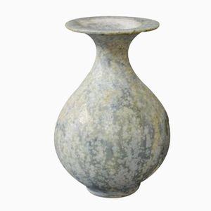 Small Grey Ceramic Vase by Arne Bang, 1960s