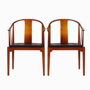 FH 4283 China Chairs by Hans J. Wegner for Fritz Hansen, Set of 2