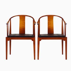 FH 4283 China Stühle von Hans J. Wegner für Fritz Hansen, 2er Set