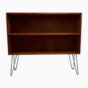 Teak Commode with Hairpin Legs