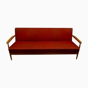 Mid-Century Red Daybed