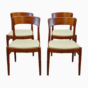 Scandinavian Mobelfabrik Dining Chairs by Niels O. Møller, Set of 4