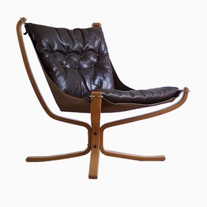 Falcon Chair Vintage par Sigurd Ressel pour Vatne Møbler