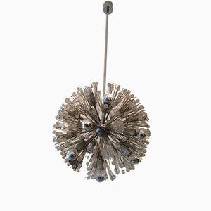 Chrome Sputnik Snowball Chandelier by Emil Stejnar for Rupert Nikoll, 1960s