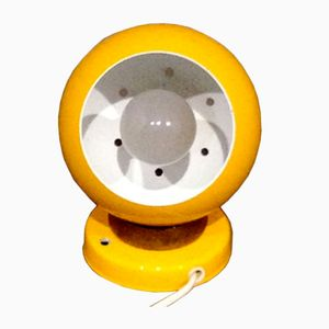 Scandinavian Yellow Supply Lamp, 1970s