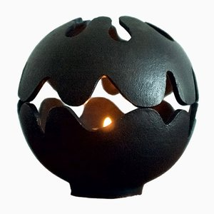 Vintage Pumpkin Candle Holder by Christel & Christer Holmgren for Illums Bolighus