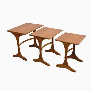 Mid-Century Teak Nest of Tables from G-Plan